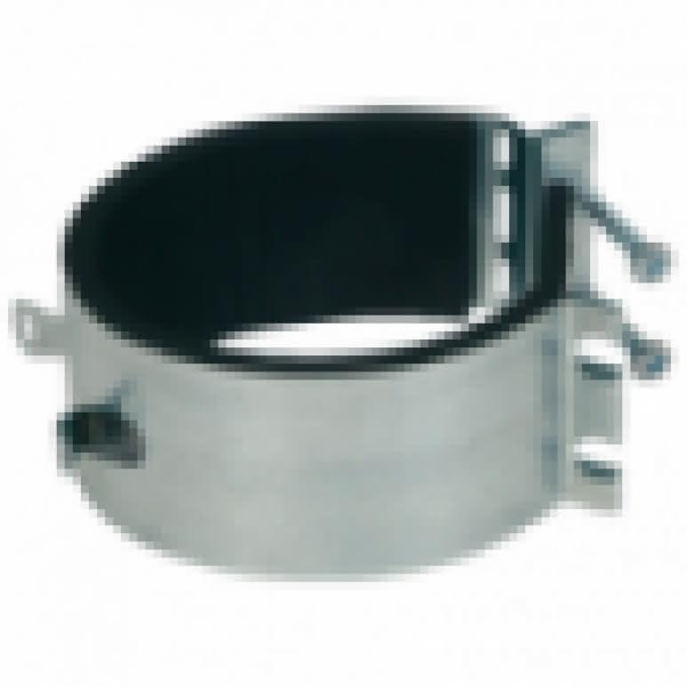 Reduzierstück / Verjüngung 160 auf 100mm - Stahlblech feuerverzinkt