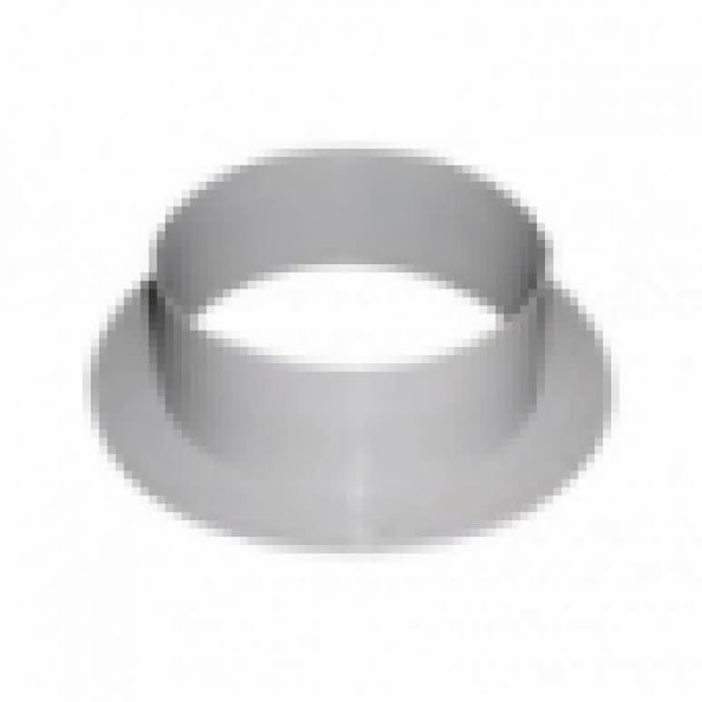 T-Stück Metall 3x160mm - 90-Grad - Stahlblech feuerverzinkt