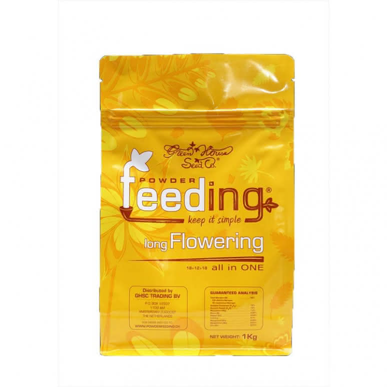 Greenhouse Powder-Feeding long Flowering - Blütedünger