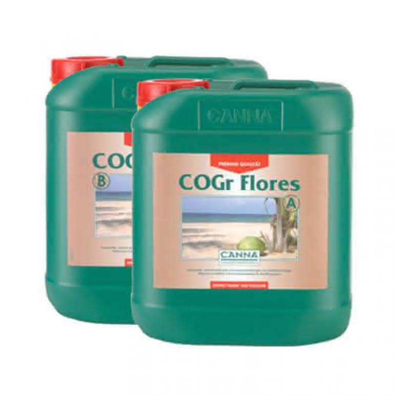 Canna COGr Flores A + B je 5 Liter - Blütedünger