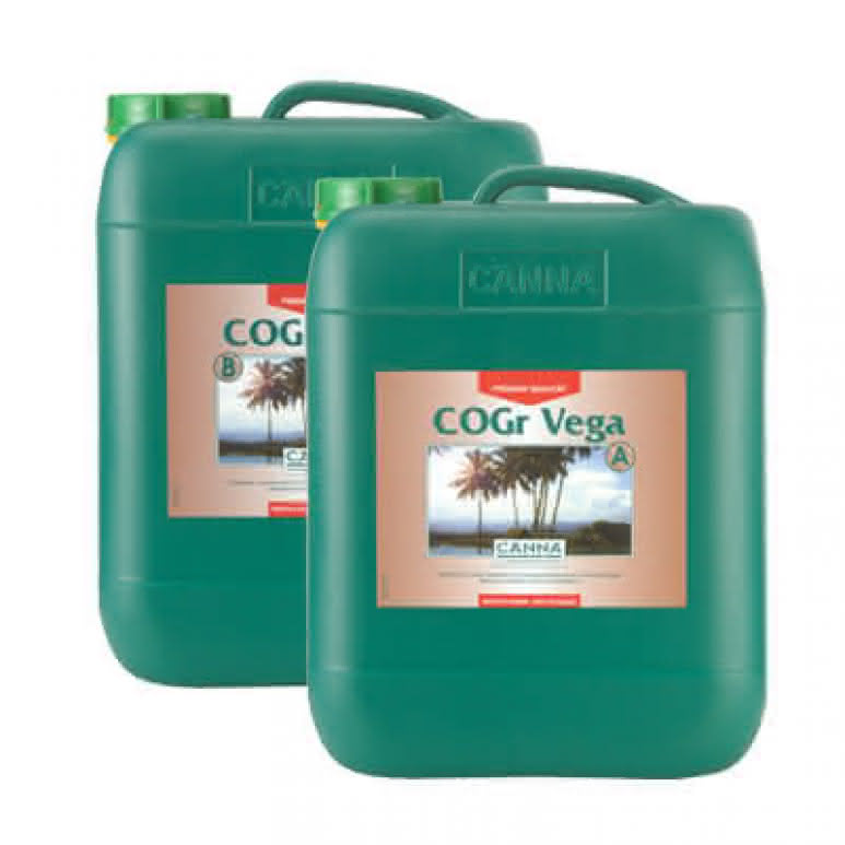 Canna COGr Vega A + B je 10 Liter - Wachstumsdünger