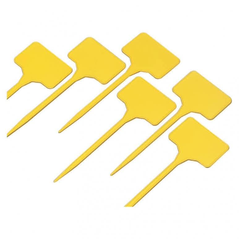 Pflanzschildchen gelb 15cm - 15 Stück pro Paket