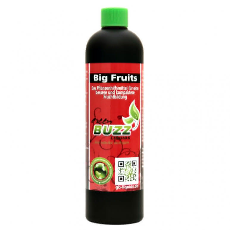 Green Buzz Liquids GBL Big Fruits Standard 250ml - Blütenstimulator organisch