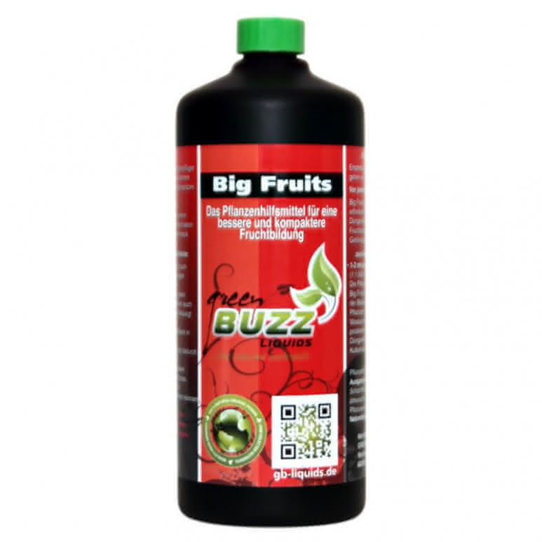 Green Buzz Liquids GBL Big Fruits Standard 1 Liter - Blütenstimulator organisch