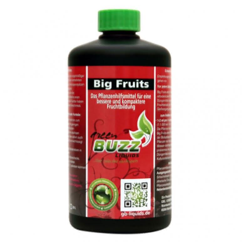 Green Buzz Liquids GBL Big Fruits Standard 500ml - Blütenstimulator organisch