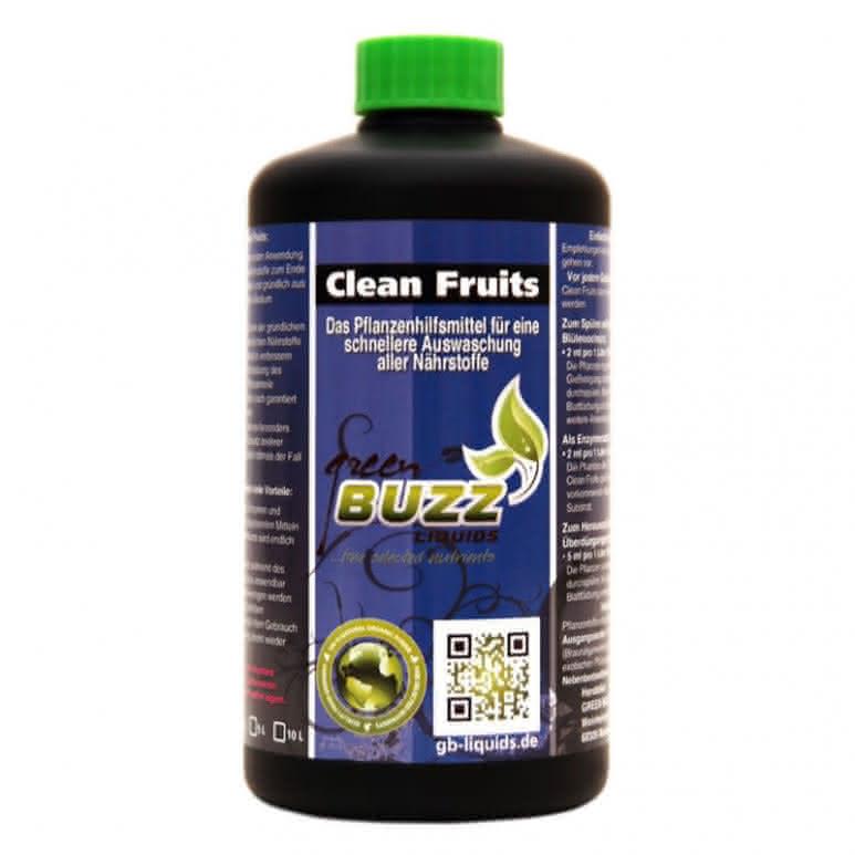 Green Buzz Liquids GBL Clean Fruits 500ml - Pflanzenhilfsmittel organisch