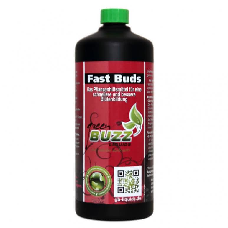 Green Buzz Liquids GBL Fast Buds 1 Liter - Pflanzenhilfsmittel organisch