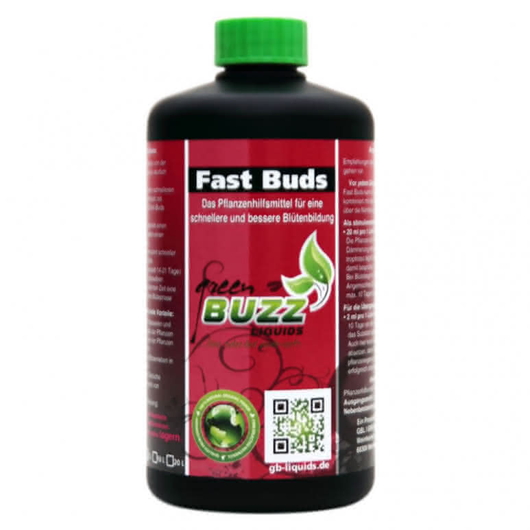 Green Buzz Liquids GBL Fast Buds 500ml - Pflanzenhilfsmittel organisch