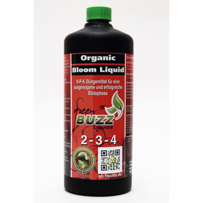 Green Buzz Liquids GBL Organic Bloom Liquid 1 Liter - Blütedünger organisch