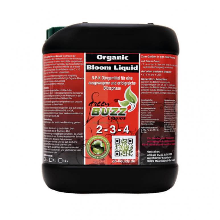 Green Buzz Liquids GBL Organic Bloom Liquid 5 Liter - Blütedünger organisch