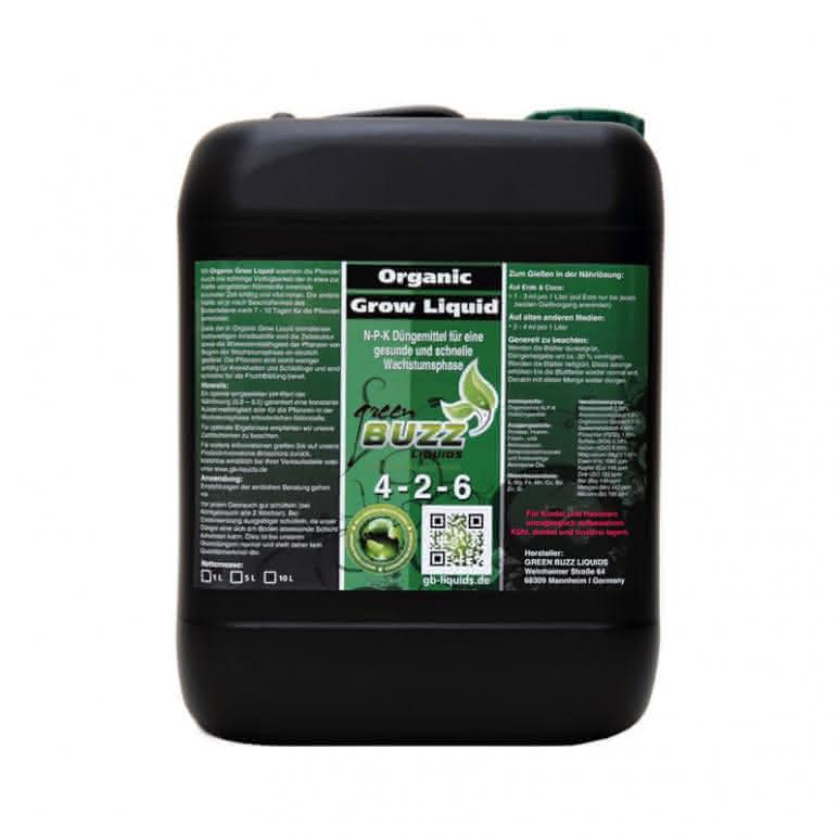 Green Buzz Liquids GBL Organic Grow Liquid 10 Liter - Wachstumsdünger organisch