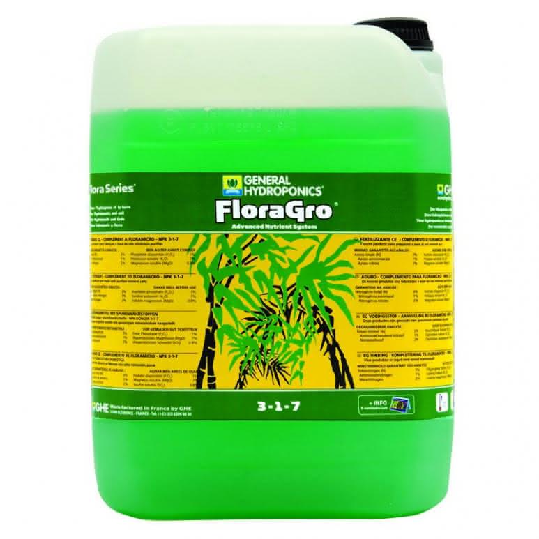 GHE Flora Gro 10 Liter