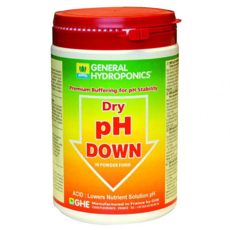General Hydroponics GHE pH Down Dry 1Kg - pH-Regulator