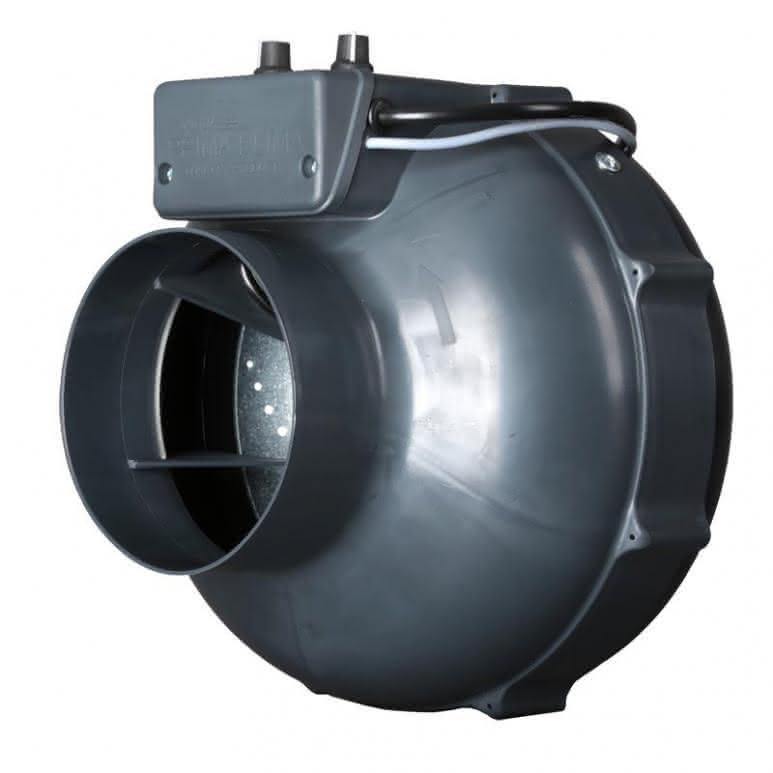 Prima-Klima Rohrventilator temp controlled - 400m³/h - Ø125mm