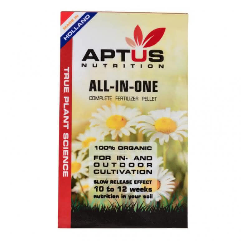 Aptus All-In-One dry 100g - Basisnährstoffe Granulatdünger
