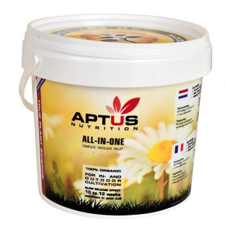 Aptus All-In-One dry 10Kg - Basisnährstoffe Granulatdünger