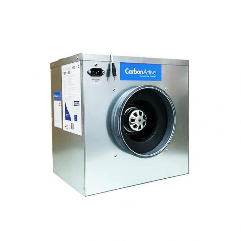 CarbonActive schallgedämmte EC Silent-Box 3500m³/h  - 315mm 900 Pa