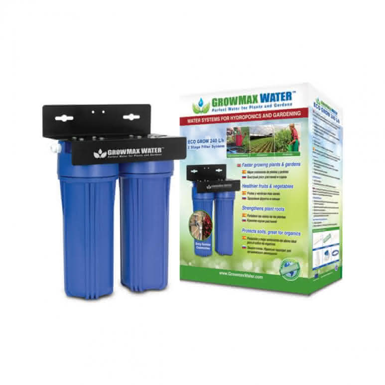 GrowMax Water Eco-Grow 2-Stufen-Filtersystem - 240 Liter pro Stunde