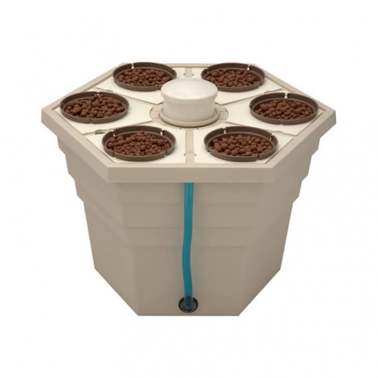 General Hydroponics GHE RainForest²® 66 - Aeroponisches System für bis zu 6 Pflanzen