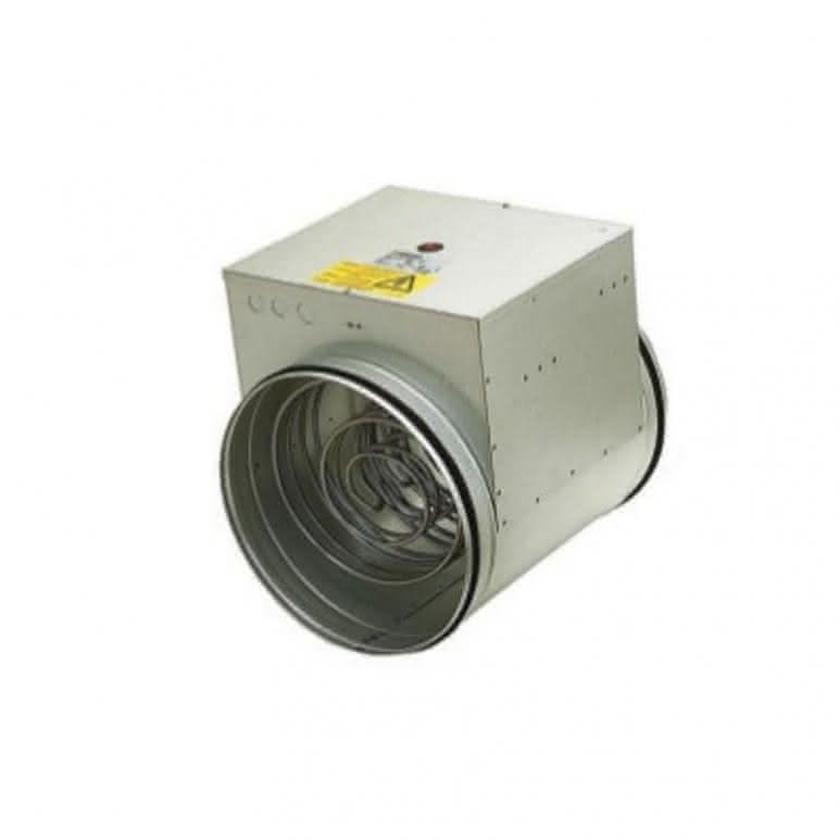 Elektroheizregister für Rohreinbau unberkabelt - 125mm 600 Watt