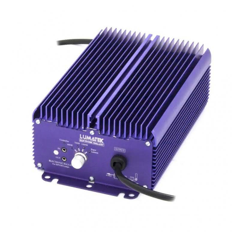 Lumatek digitales Vorschaltgerät 1000 Watt EVG 400 V Pro - dimmbar