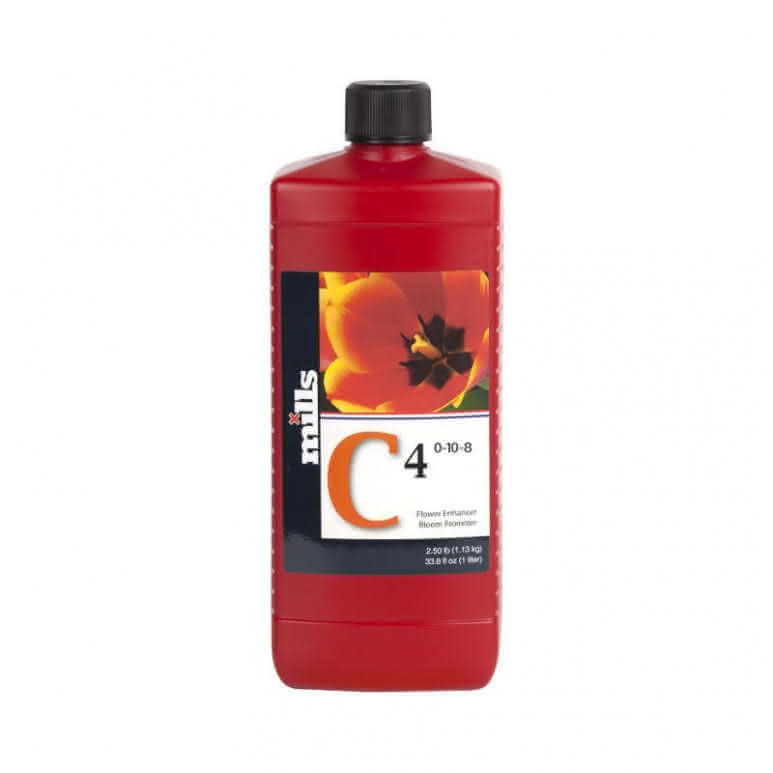 Mills Nutrients C4 High Concentrated 1 Liter - Blütenstimulator
