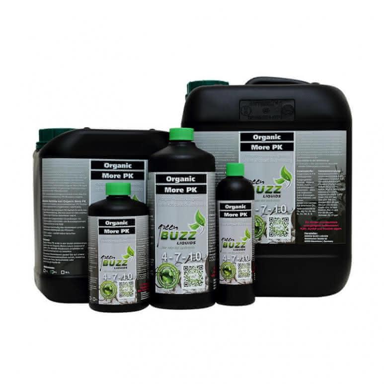 Green Buzz Liquids GBL Organic More PK - PK-Booster organisch