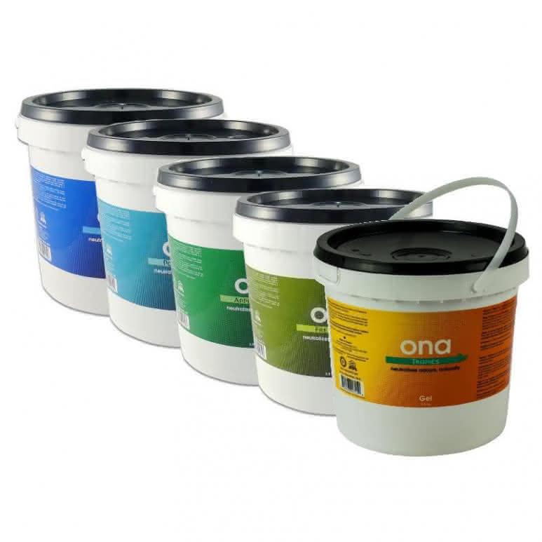 ONA Gel 4 Liter Eimer - verschiedene Geruchsrichtungen