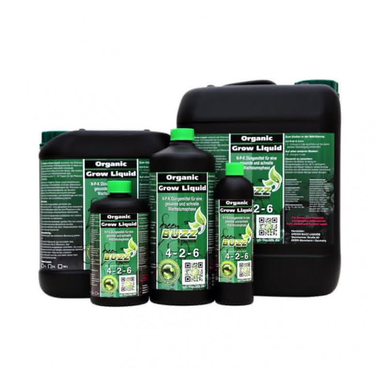 Green Buzz Liquids GBL Organic Grow Liquid - Wachstumsdünger organisch
