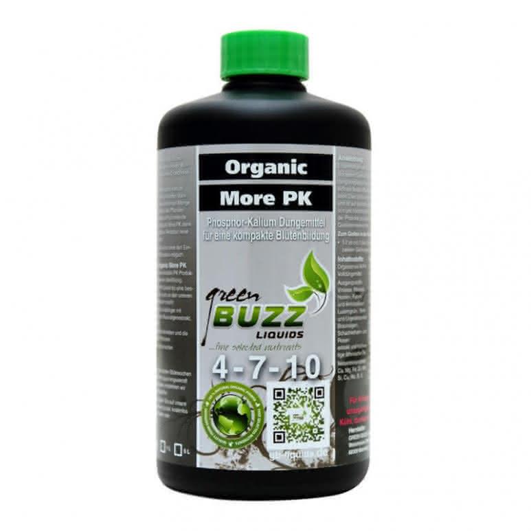 Green Buzz Liquids GBL Organic More PK 500ml - PK-Booster organisch