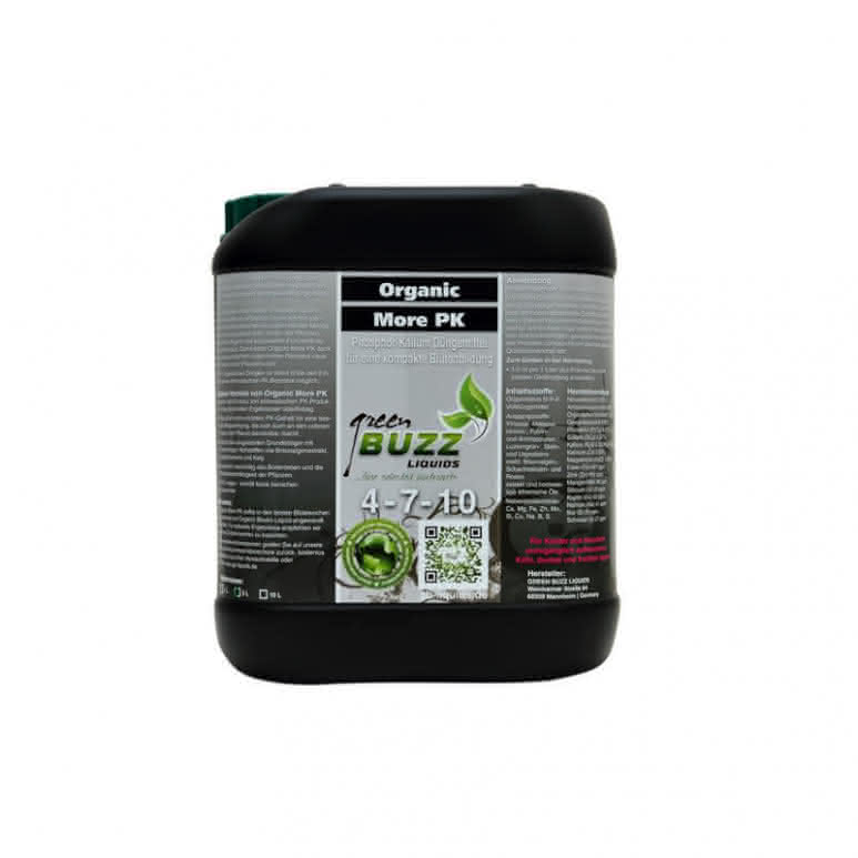 Green Buzz Liquids GBL Organic More PK 5 Liter - PK-Booster organisch
