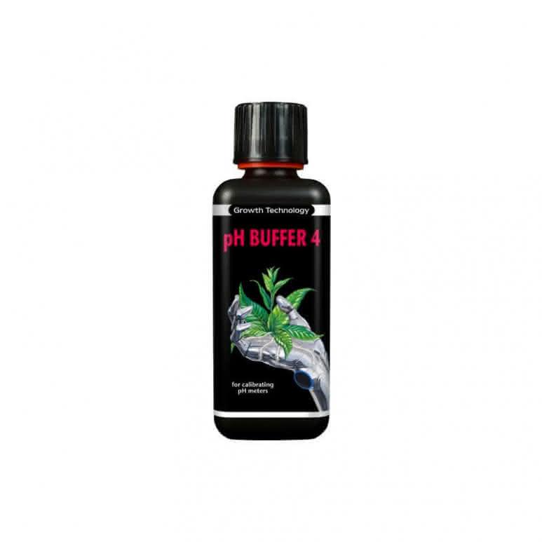 Growth Technology Kalibrierflüssigkeit pH 4.0 - 300ml Flasche