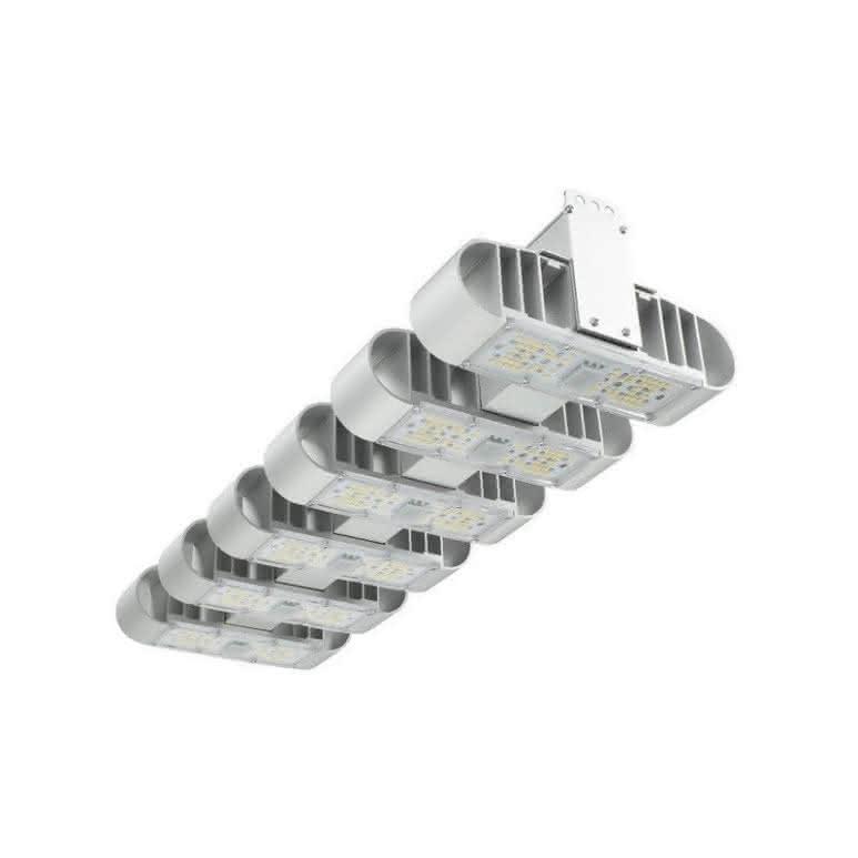 Lucilu Shuttle 6 - LED Pflanzenlampe - silber 240 Watt