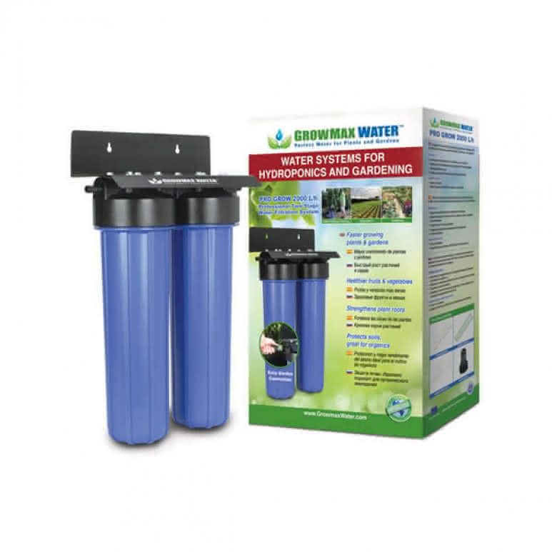 GrowMax Water Pro-Grow 2-Stufen-Filtersystem - 2000 Liter pro Stunde