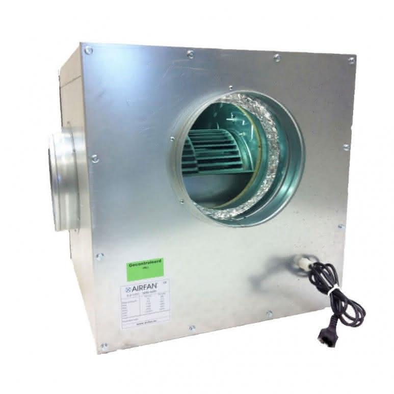Softbox Lüfterbox Metall 750m3/h - 200mm Anschluss