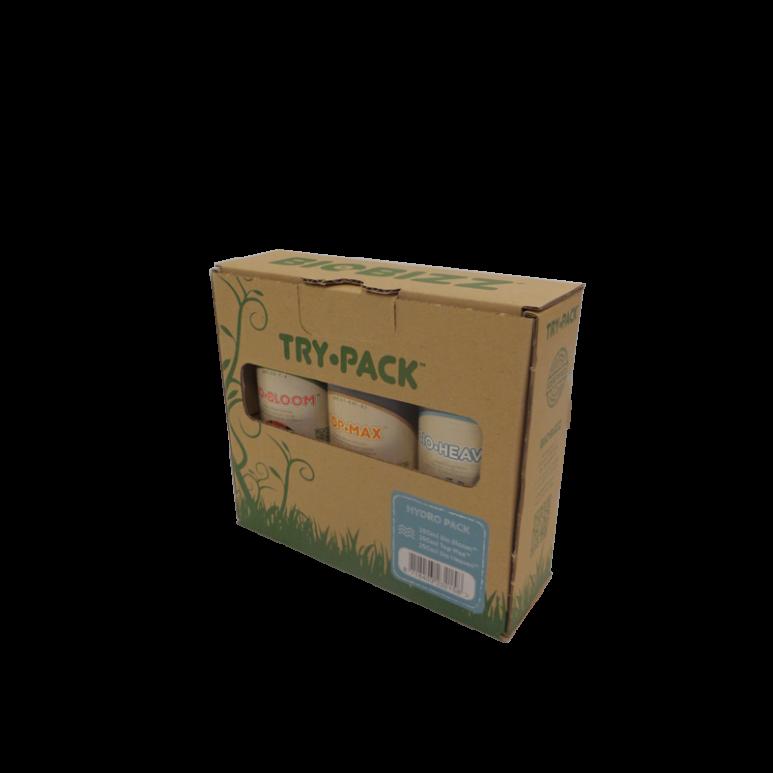 BioBizz® Try-Pack Hydro - 750ml Düngerset